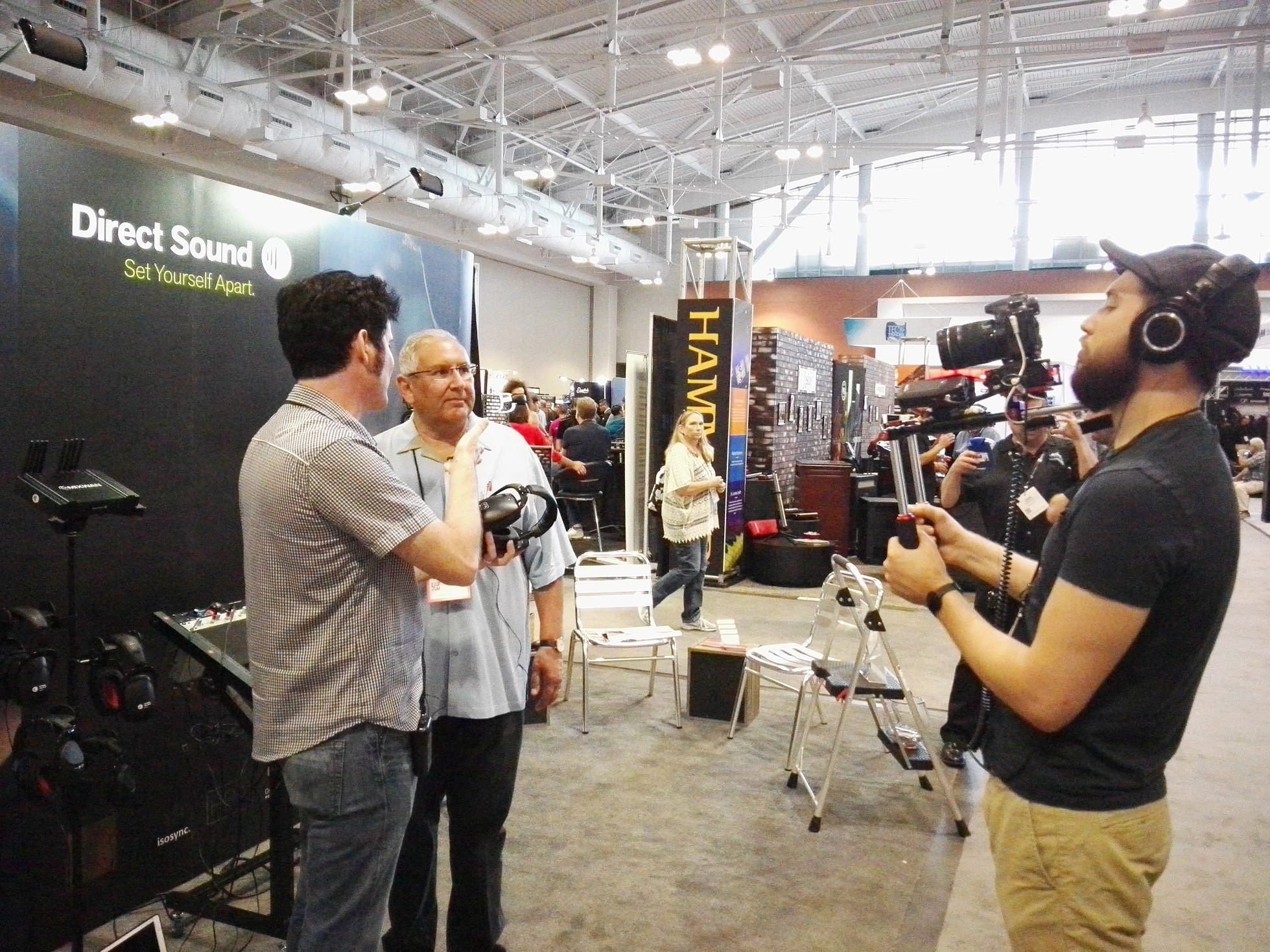 Steve Rois at NAMM